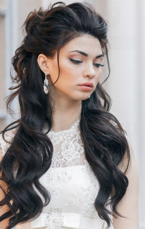 35 Beautiful Wedding Hairstyles For Long Hair: 35 Bridal Wedding Hairstyles For Long Hair To Stand You Out