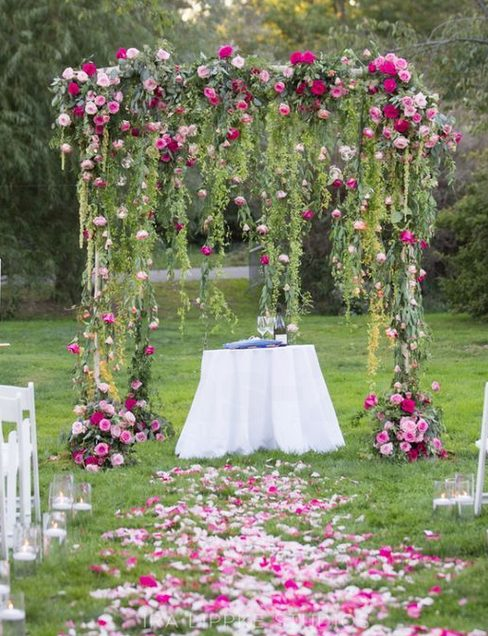Wedding arch decoration ideas image collections wedding for Archway decoration