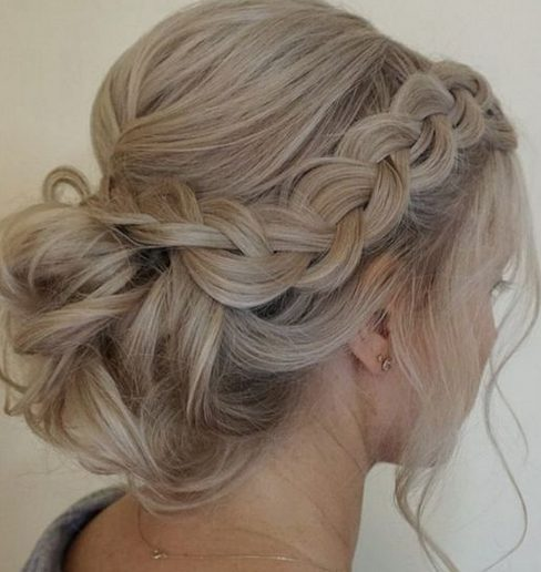 39 chic wedding hair updos for elegant brides details and variations in styles of updos to choose from so take a look and see what appeals to your romantic spirit for your 2017 bridal adventure junglespirit Gallery