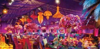 arabian wedding theme ideas