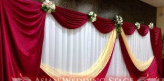 backdrop decorations for wedding receptions