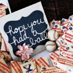 baseball themed wedding favors