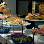 buffet wedding reception