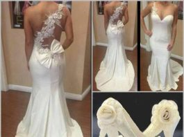 build a wedding dress