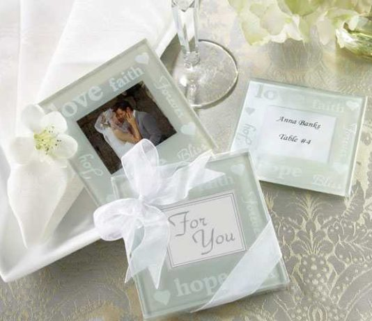 coasters for wedding favors