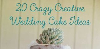 crazy wedding cakes