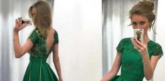 emerald green dress for wedding