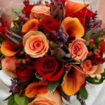 fall wedding bouquets