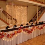 fall wedding reception decorations