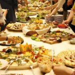 food for wedding reception