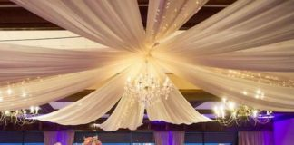 how to decorate for a wedding reception