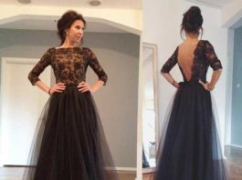 long dresses for a wedding guest