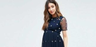maternity wedding guest dresses