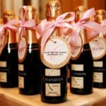 mini champagne bottles wedding favors best price