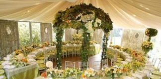 simple wedding decorations for reception