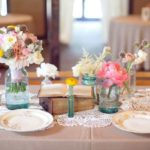 simple wedding reception centerpieces