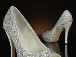 sparkly shoes for weddings
