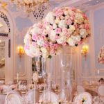 tall wedding reception centerpieces
