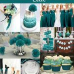 teal wedding theme ideas