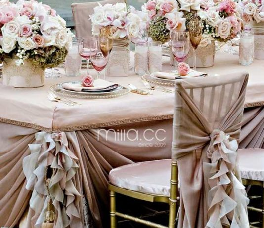 wedding chair sashes