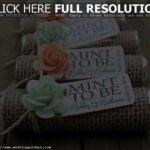 wedding favors ideas cheap