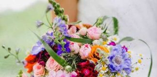 wedding flower ideas for july