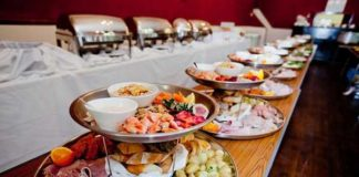wedding menu ideas buffet