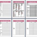 wedding planner printouts