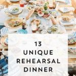 wedding rehearsal dinner ideas on a budget