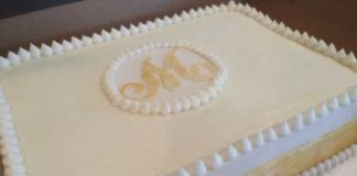 wedding sheet cake decorating ideas