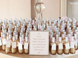 what are wedding favors