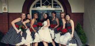 50s themed wedding ideas