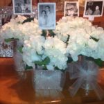 60th wedding anniversary centerpiece ideas