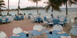 beach theme wedding reception ideas