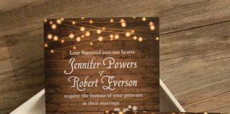 country themed wedding invitations