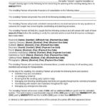 free wedding planner contract templates