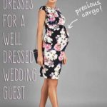 maternity dress for wedding guest
