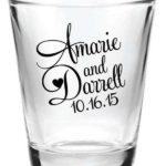 personalized shot glass wedding favors