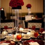 red wedding centerpieces ideas