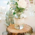 rustic wedding centerpieces